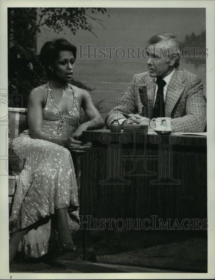 1978 Press Photo Lola Falana guests on Tonight Show Starring Johnny Carson.