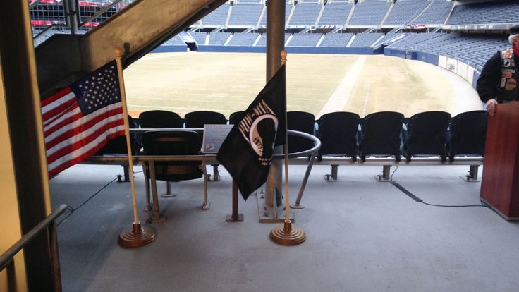 Soldier Field Reserves Empty Seat For POW-MIA Cause - The Illinois director of Veteran's Affairs noted there are 83,000 POW-MIAs. That's about 20,000 more than the seating capacity of Soldier Field.