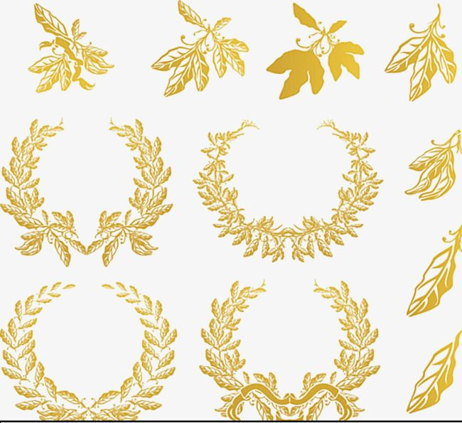Gold Laurel Wreath Gold Gold Clipart Golden Wreath Png Transparent Clipart Image And Psd File For Free Download Coroa De Louros Ramos De Oliveira Circulo De Ouro