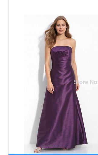 Long dress brudtärna klänningar Shoulder 2015 brudtärna klänning