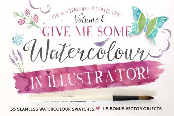 Great Give me Watercolour in Illustrator!