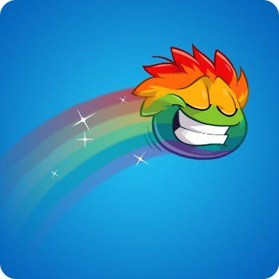 Rainbow Puffle Game | Club Penguin