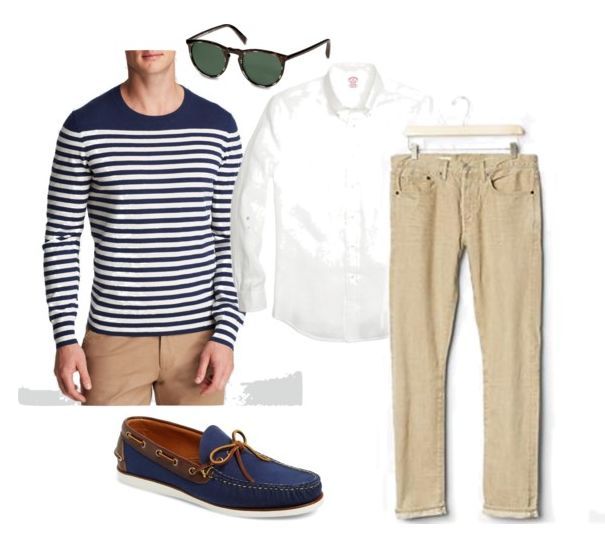 3 Ways to Wear the Nautical Look: One if By Land
