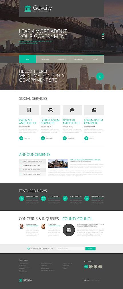 Politics Most Popular website inspirations at your coffee break? Browse for more Bootstrap #templates! // Regular price: $75 // Sources available: .HTML,  .PSD #Politics #Most Popular #Bootstrap