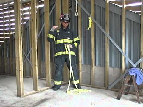 ▶ How to tie a Full Body Hasty Harness for Training or Rescue - YouTube