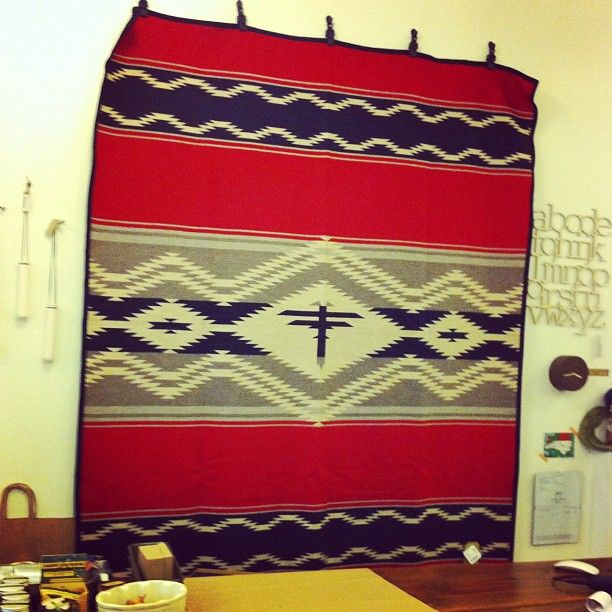 The Navajo Water blanket is back! A portion of proceeds goes to The American Indian College Fund - providing scholarships to thousands of Native students each year.