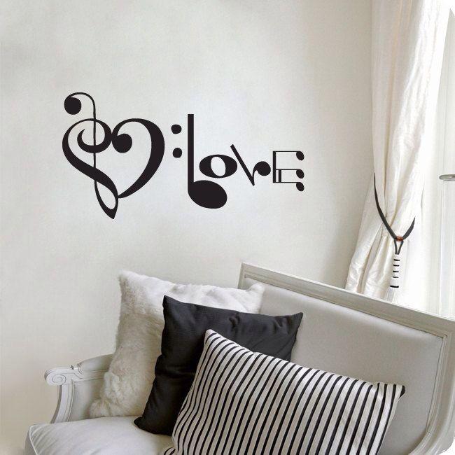 """Love"" music decoration"