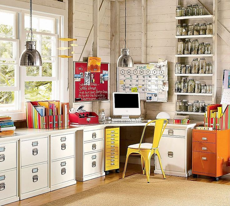 66 best images about Home Office on PinterestHome office design
