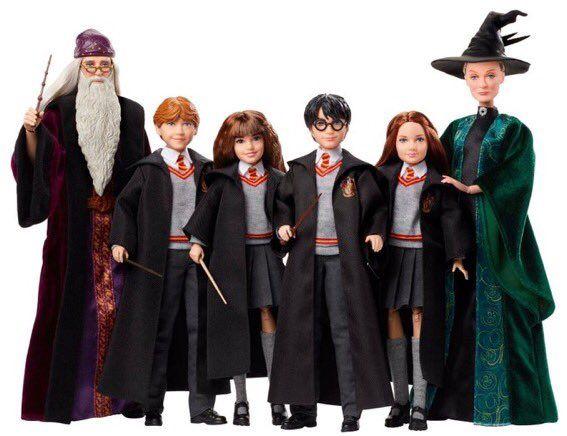 Minerva Mcgonagall On Twitter Harry Potter Toys Harry Potter Dolls Harry Potter Action Figures