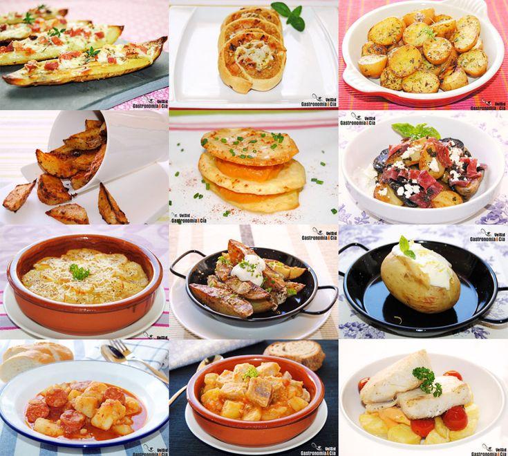 Doce recetas con patatas, fáciles y sabrosas