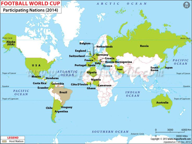 642 best maps images on pinterest maps location map and cards teams qualified for world football cup 2014 gumiabroncs Image collections