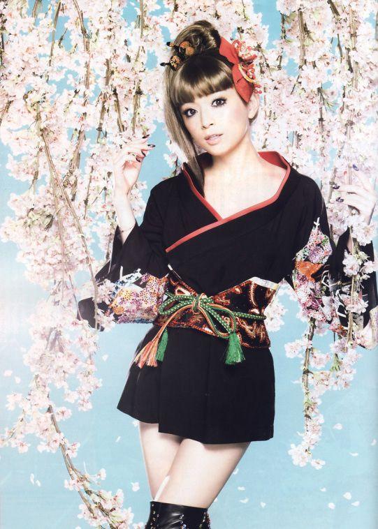 Ayumi Hamasaki - The pop empress | FASHION | otome kimono ...