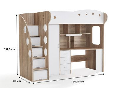 Bureau jenga blanc: best bureau images desk bedrooms and child room