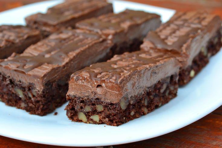 Csokoládé-királynő szelet – alig van benne liszt! Csupa csupa csoki, fenséges!