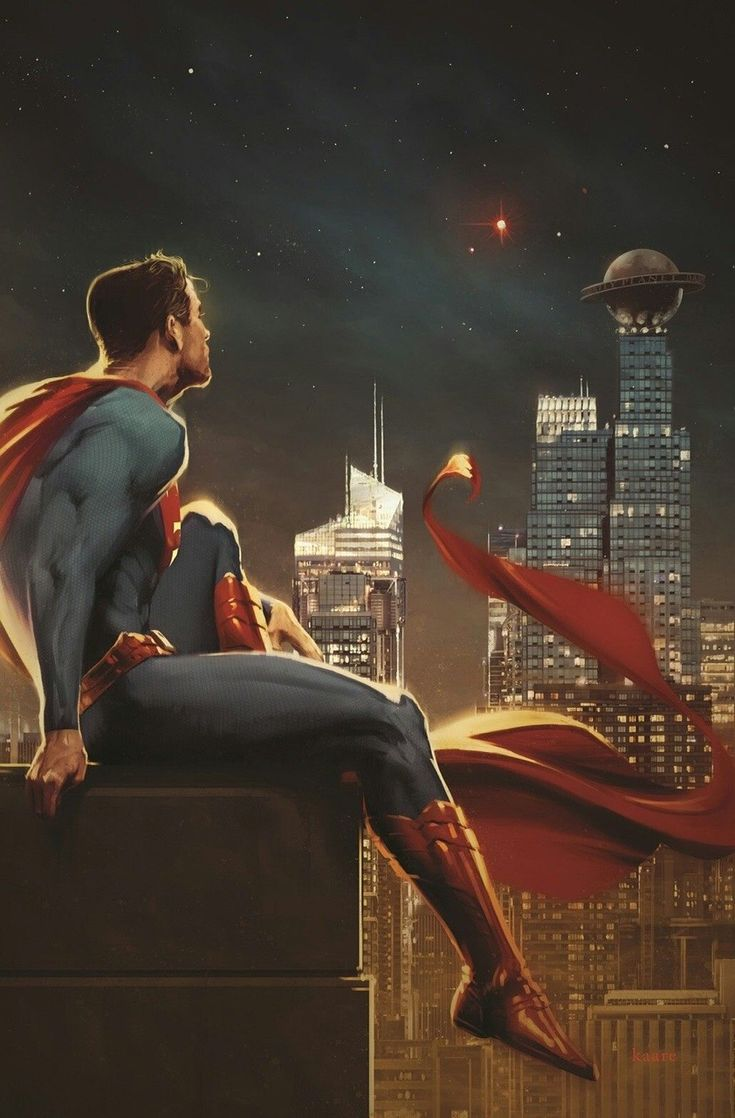 Superman by Kaare Andrews.