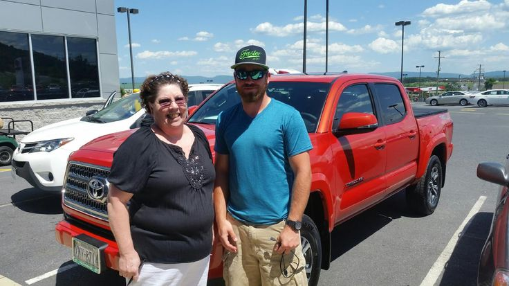 Patricia Miller with her new #Tacoma Congratulations. Sales Associate: Jimmy Thompson mcdonoughtoyota.com