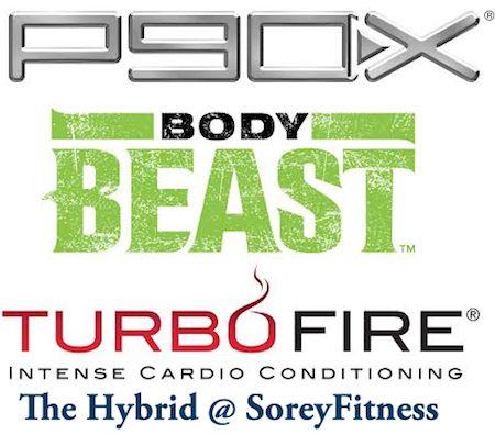 CRAZY WEEK! P90X TurboFire Body Beast Hybrid Workout Schedule