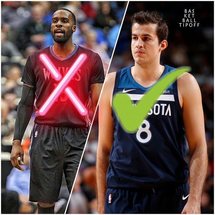 The Minnesota Timberwolves are dealing with the loss of Jimmy Butler interestingly.  After losing their star SG Minnesota moved Andrew Wiggins back to his natural position and looked to fill the SF spot in their starting line up. Instead of placing Shabazz Muhammad into the starter spot they bought out his contract making him a free agent and then started Nemanja Bjelica.   Bjelica is a solid player but a natural PF who is 6 foot 10 and lacks mobility. He would be better off at the C…
