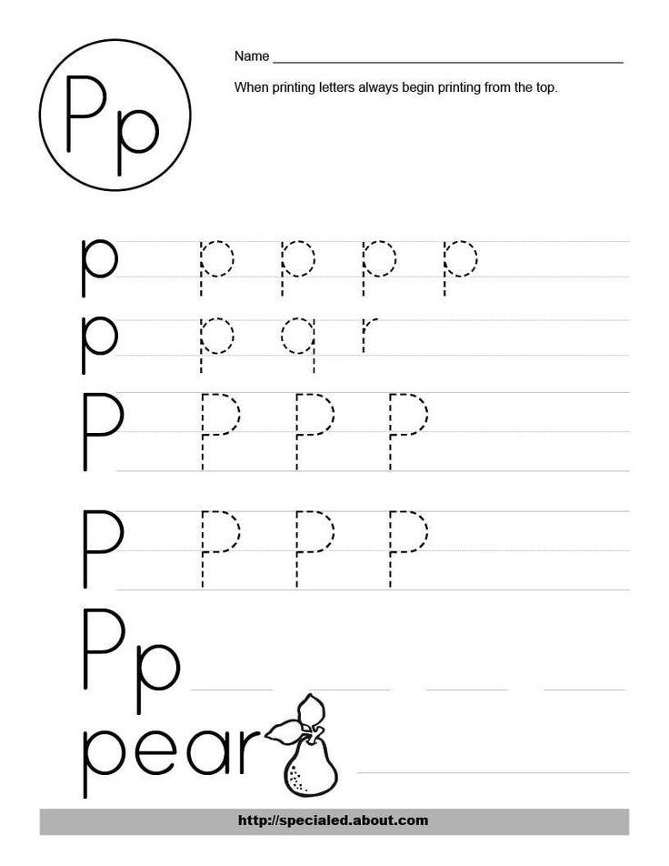 alphabet worksheets for preschoolers free worksheet activities for the letter p
