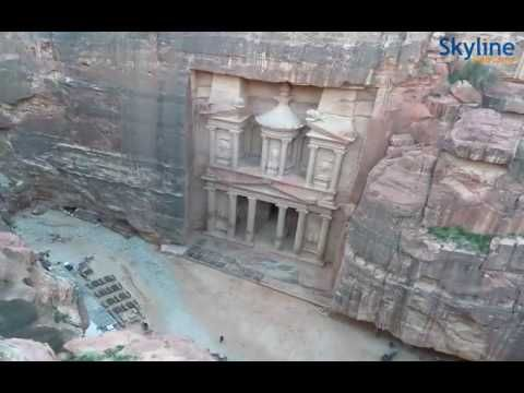 """Live Webcam from Petra """"The Treasury"""" - Time Lapse"""