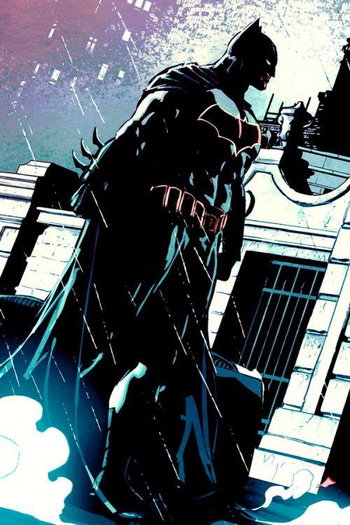 Brooding in Batman #9