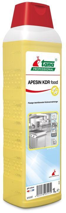 Apesin KDR Food detergent dezinfectant rapid pentru bucatarie.