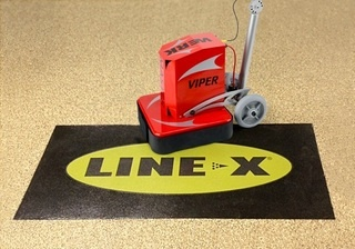 WerkMaster Concrete Grinders Are Machine of Choice for Line-X Award-Winning ASPART-X Flooring Solution for Residential and Commercial Applications