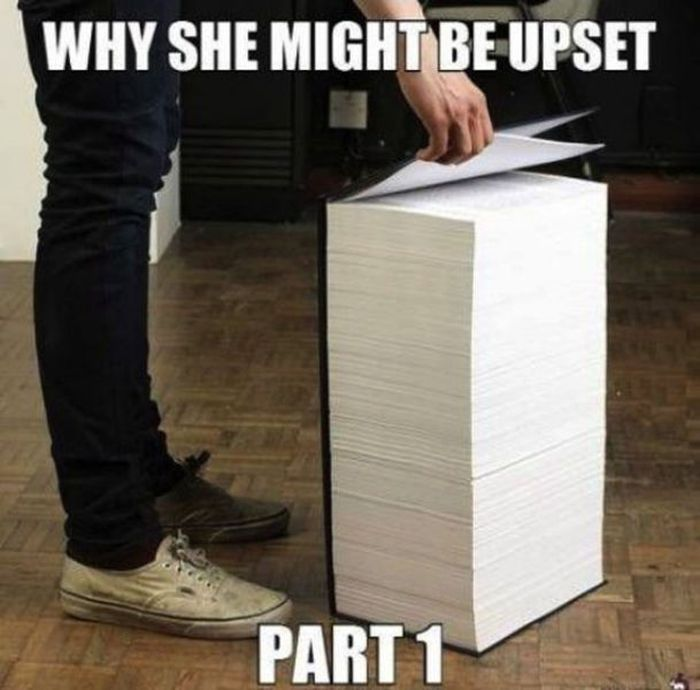 Why does its seem that women don't respond to logic & reason?