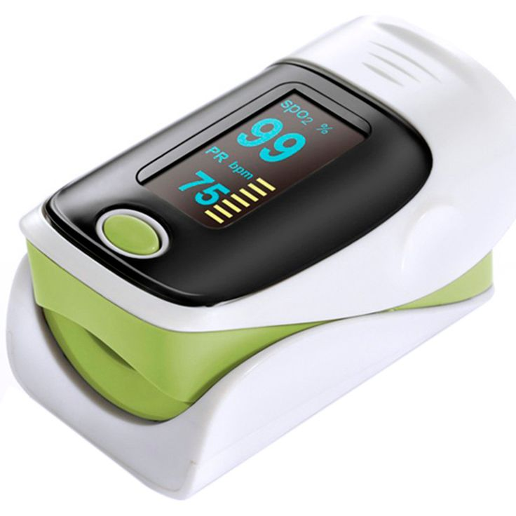 Protabel Finger Tip Pulse Oximeter Blood Oxygen Saturation Monitors Upgrade Alarm setting Health care