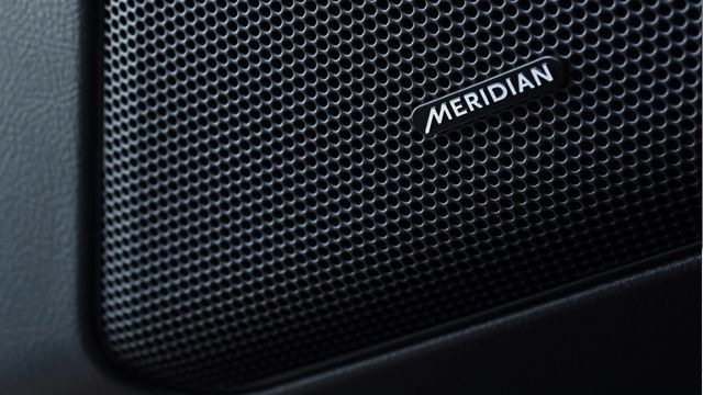 Meridian Audio, as featured in the 2013 Range Rover