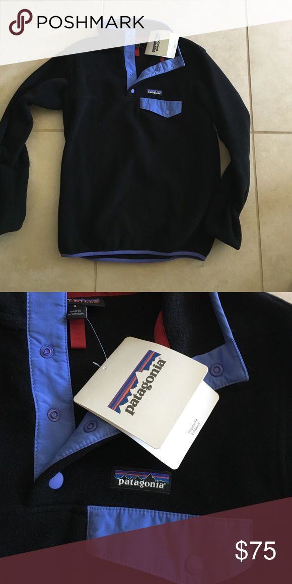 NWT Patagonia pull over fleece Brand new size small Patagonia Sweaters