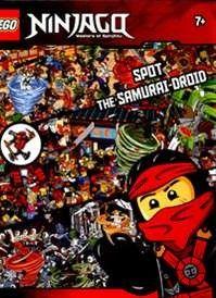 Lego Ninjago: Spot the samurai-droid