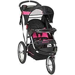 Baby Trend Expedition Jogger Stroller, Bubble Gum pink