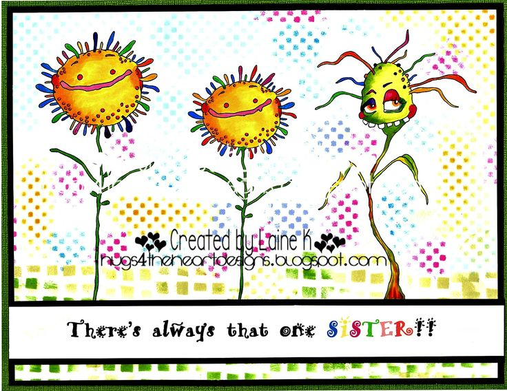 Craft items created with the quirky and amazing digital images and rubber stamp images from the very talented artist Lisa Bloobel.