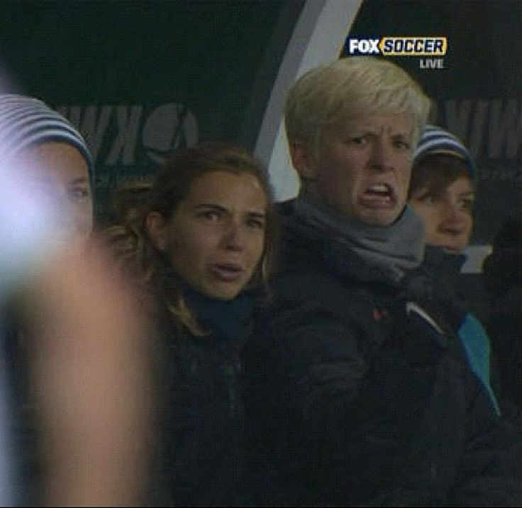 Megan Rapinoe and Tobin Heath... I absolutely love them.