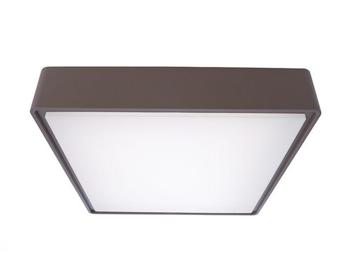 Stropní venkovní svítidla : Stropní svítidlo Quadrata II 16 W LED 4000K 802lm šedá - LIGHT IMPRESSIONS