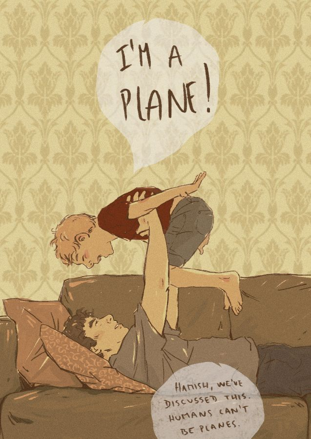 "johix: ""marykk1990: ""johix: ""and finally some parentlock! "" Reblogging because this reminds me of Cabin Pressure and Martin Crieff and his wish to be an airplane. I still need to listen to that. Of..."