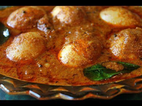 Egg Curry Recipe | Egg Masala Curry Recipe | Egg Korma | Easy Egg Gravy - YouTube