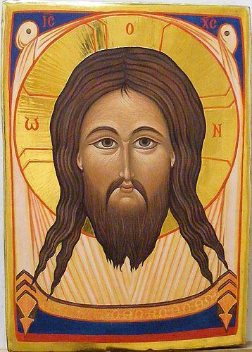 Icons - Christ - The Studio of John the Baptist : sacredart.co.nz