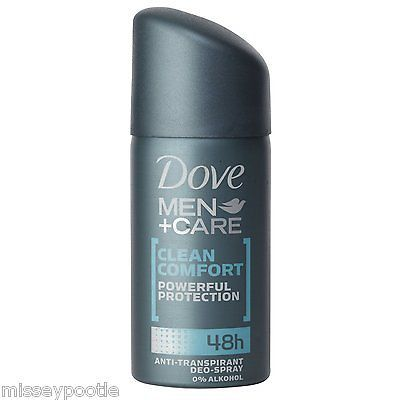 Dove men+ care #clean anti-perspirant #deodorant spray travel size #(pack 8 x 35m,  View more on the LINK: 	http://www.zeppy.io/product/gb/2/251867318849/