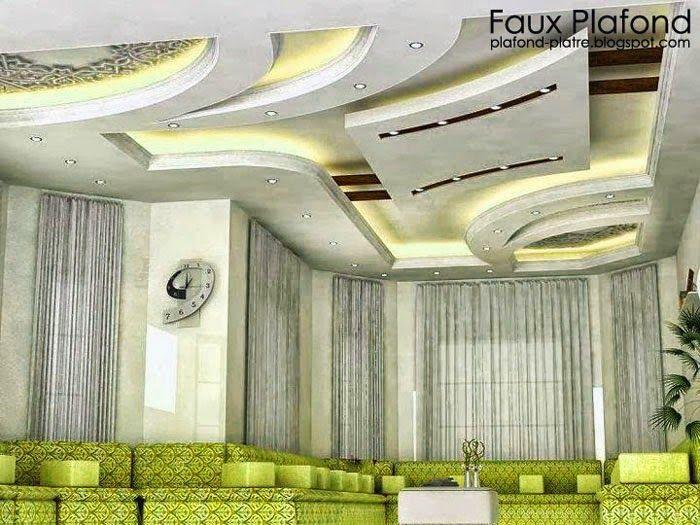 1000 id es sur le th me faux plafond platre sur pinterest faux plafond suspendu faux plafond. Black Bedroom Furniture Sets. Home Design Ideas