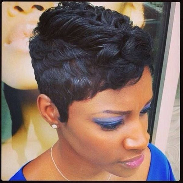 20 Stylish Short Hairstyles for Black Women 2015 shorthairstyles blackwomen