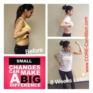 A lot can change in 8 weeks with the right coach by your side!