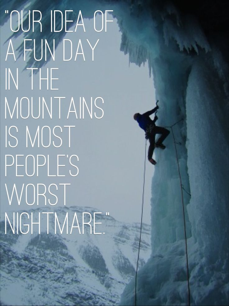 CU senior and ice climber Jake Kincaid on the appeal of climbing a frozen waterfall.
