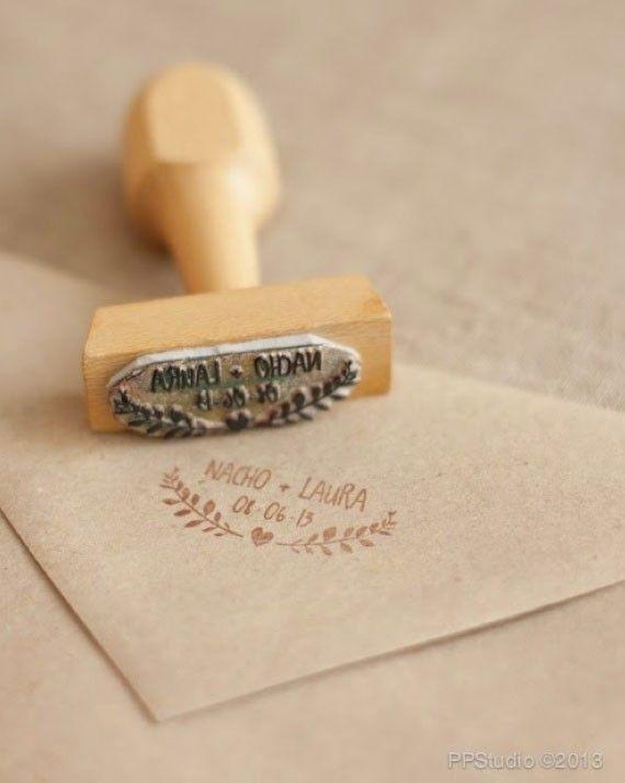 5 ideas para sacarle partido a tu sello y personalizar tu casamiento
