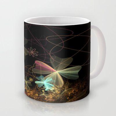 Fractal Design Flower Mug by Fine2art - $15.00