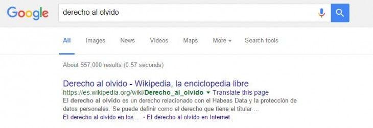 Lee El derecho al olvido de google se expande a todos sus dominios
