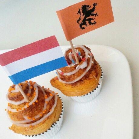 Worldcup cinnamon bites #homemade #cinnamon #cinnamonbuns #kaneelbroodjes #dutch #holland