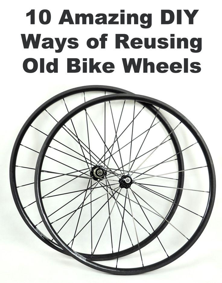 10 Amazing DIY Ways of Reusing Old Bike Wheels