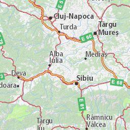 Carte détaillée Roumanie - plan Roumanie - ViaMichelin